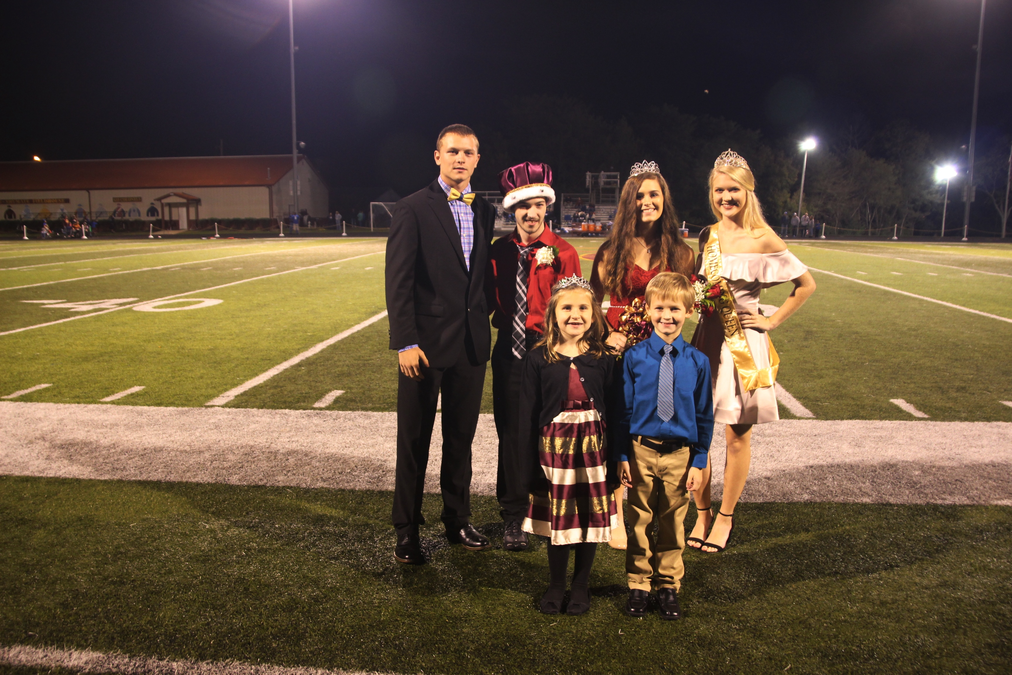 Donovan Hollar and Karly Black Are Homecoming King and Queen