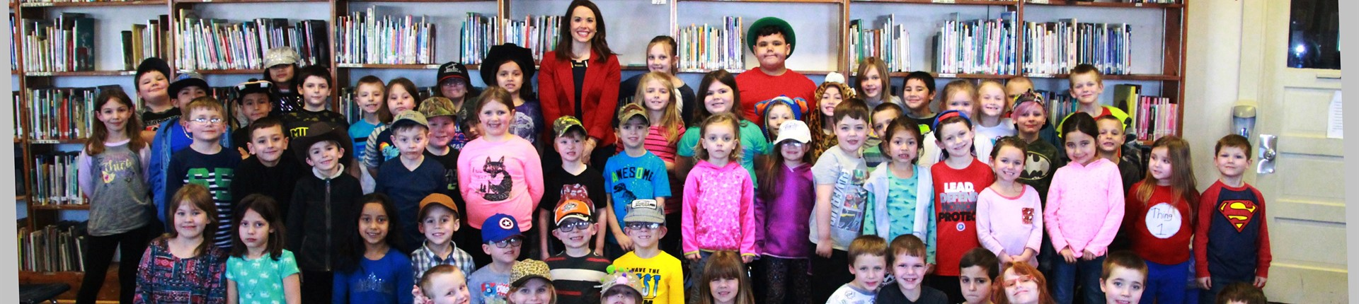 Amber Philpot with North Middletown Elementary for Read Across America