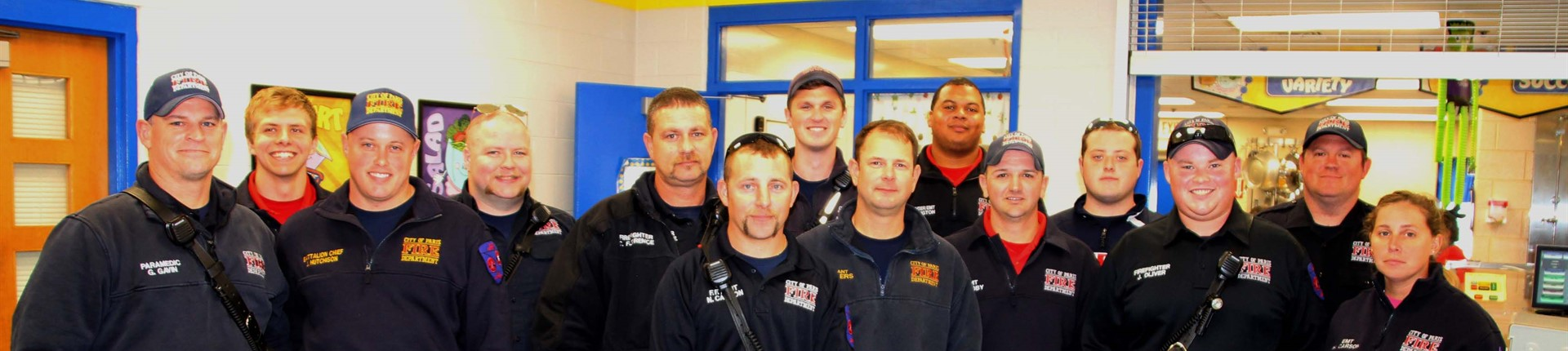 EMT's and Firefighters visit Cane Ridge Elementary