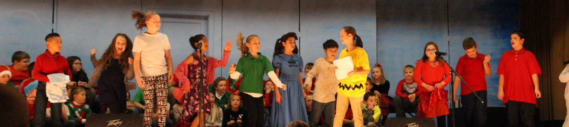 """A Charlie Brown Christmas"" at North Middletown Elementary"